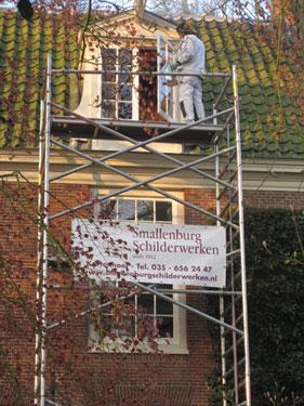 Steiger van Smallenburg voor de Buitenplaats