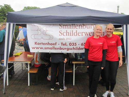 Smallenburg Schilderwerken sponsorde Jeugdsportfonds Wijdemeren