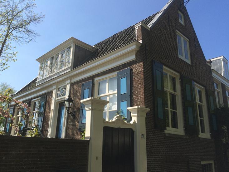 Huize Veltsigt, onderhoud schilderwerk door Smallenburg Schilderwerken